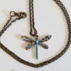 Jewelry - 3/$10 dragonfly necklace